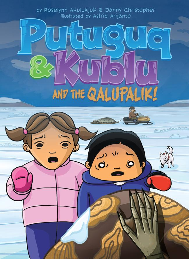 Putuguq and Kublu and the Qalupalik (Inuktitut)